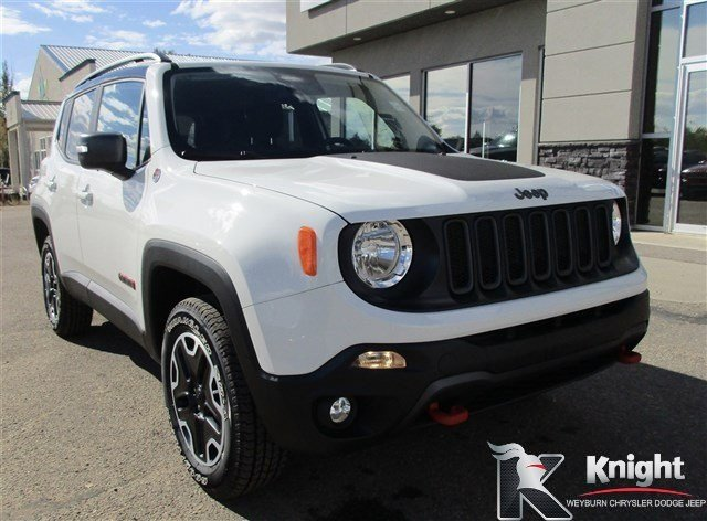 New 2016 Jeep Renegade Trailhawk Heated Seats Remote Start Keyless Entry Sport Utility Near